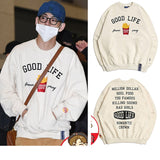 BTS V Kim Taehyung Good Life Forever Young Sweater