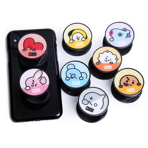 BTS x BT21 Popsocket Phone Ring
