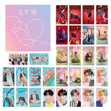 BTS Map Of The Soul Persona Love Yourself Wings Lomo Photocards Set 30 pieces