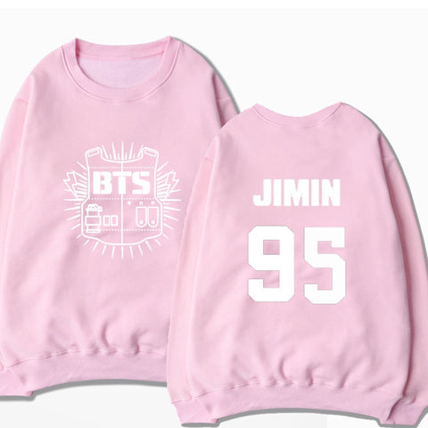 BTS Bangtan Boys Pink Sweater