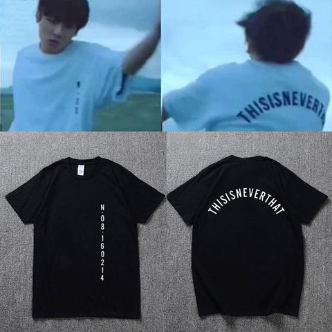 "BTS THISISNEVERTHAT / ""This Is Never That"" Jungkook T-Shirt"