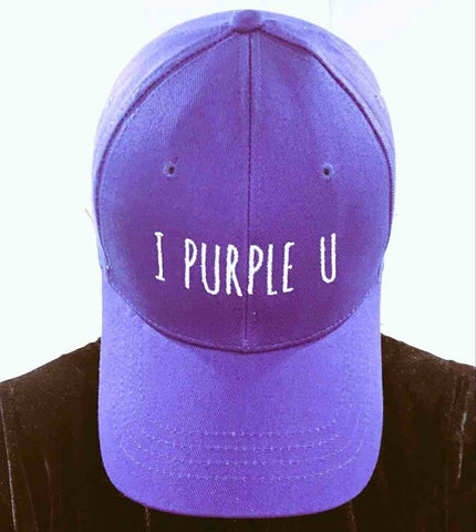 BTS Taehyung 'I Purple You Adjustable' Baseball Cap