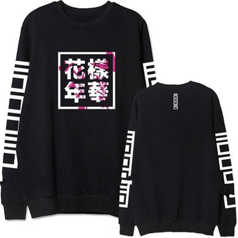 BTS HYYH Black Sweater