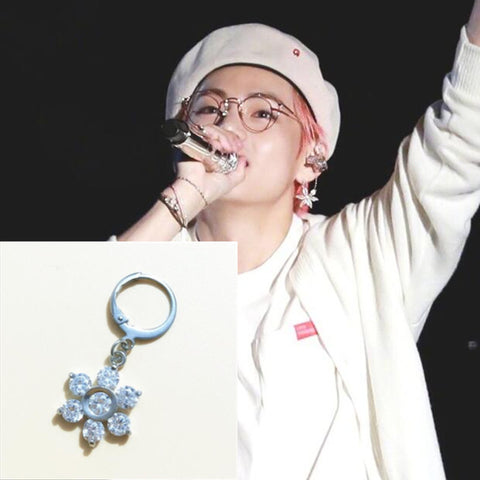 BTS Jimin Flower Earring