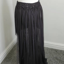 Load image into Gallery viewer, Macrame High Low Wrap Skirt
