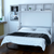 Orion Console Bed with Desk and Hutch