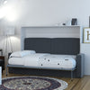 Full Horizontal Wall Bed with Sofa
