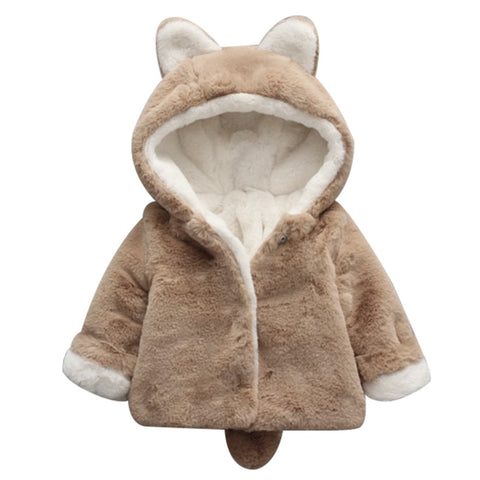Winter Warm Faux Fur  Coat Jacket