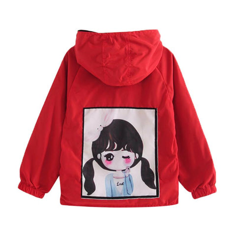 Autumn Children Girls Coat