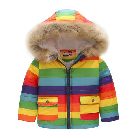 Boys Winter Coats Windbreaker Kids Jackets