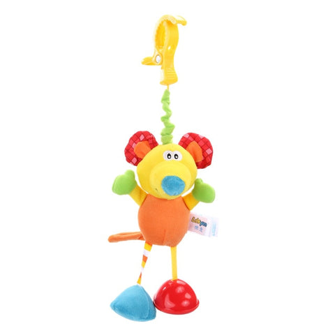 Baby Rattles Bell Toys Mobile Soft Cartoon