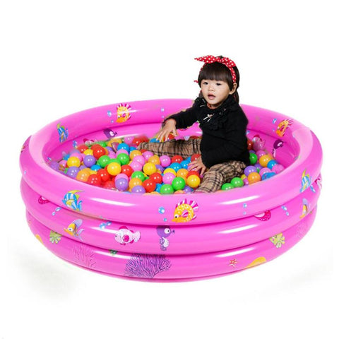 Trinuclear Inflatable Baby Swimming Pool
