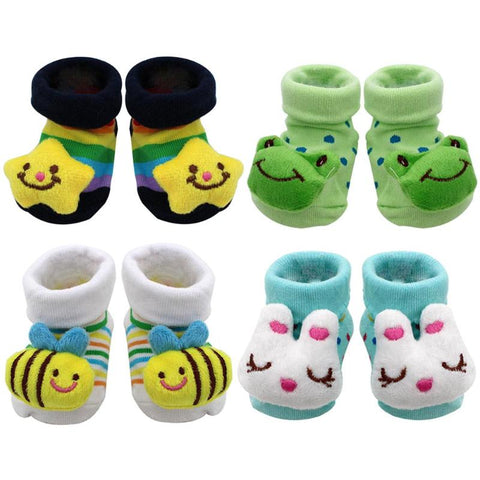 Baby Girls Boys Cute Cartoon Socks