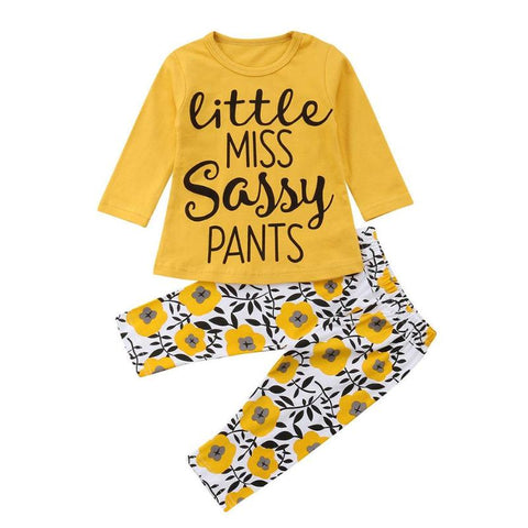 Cute Baby Girls Casual Home Outfits