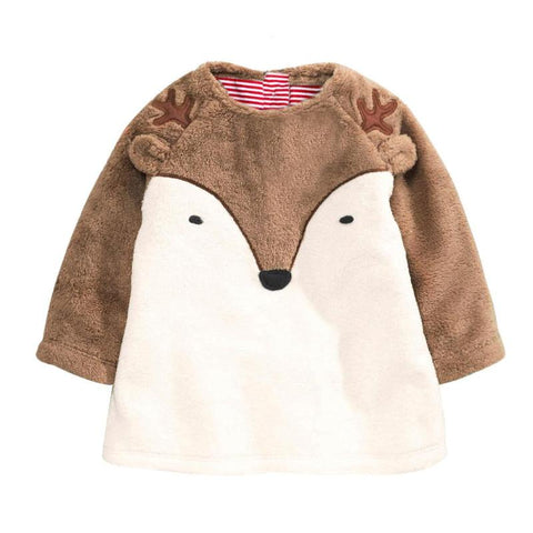 Newborn Baby Boy Girls Cartoon Fox Coat