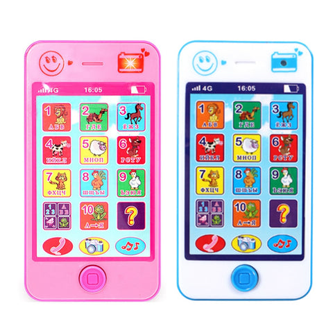 Russian Language Kids Phone Toys