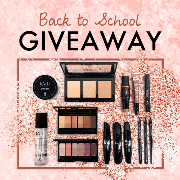 Back To School Sistar Cosmetics Giveaway