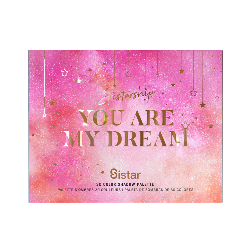 [You Are My Dream] 30 Color Eyeshadow Palette - Sistar Cosmetics