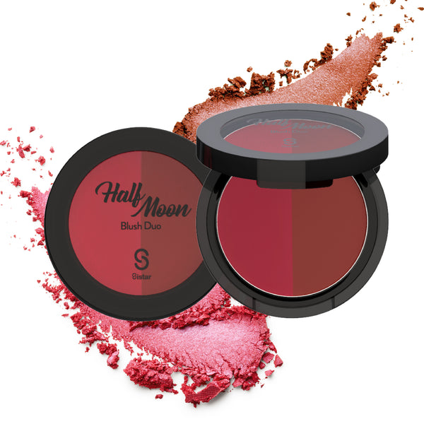 Clearance] Sistar Half Moon Blush-Face-$2.50-Sistar Cosmetics