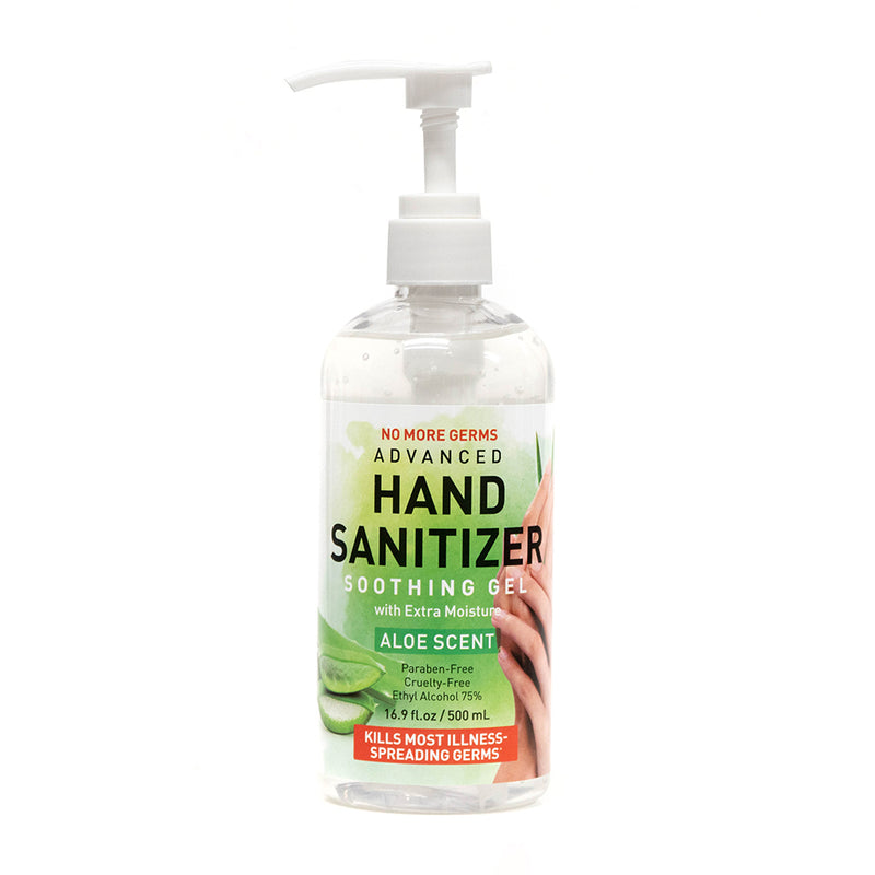 Hand sanitizer 16.9 fl oz, 500ml