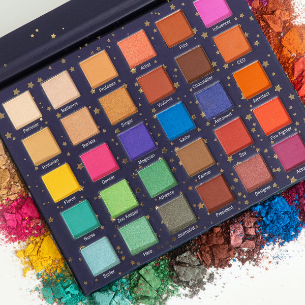 [Color Your Dream] 30 Color Eyeshadow Palette