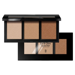 LIT AND GLOW LUMINIZER PALETTE-Face-$16.99-Sistar Cosmetics