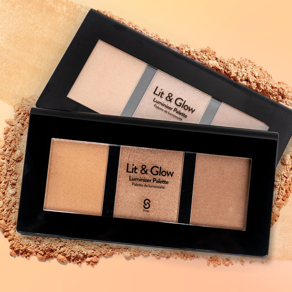 LIT AND GLOW LUMINIZER PALETTE-Face-$5.00-Sistar Cosmetics