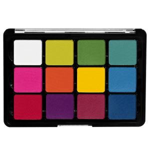 Viseart Pigment Palette: 08 Editorial Brights