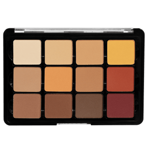 Viseart Eyeshadow Palette: 10 Warm Mattes
