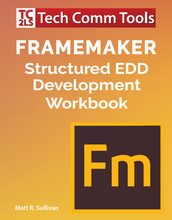 Load image into Gallery viewer, FrameMaker Structured EDD Workbooks