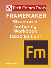 Load image into Gallery viewer, FrameMaker Structured Authoring Workbooks