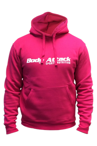 Body Attack-Hoodie Pink