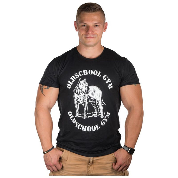Old School Gym Wear   Shirt Herren