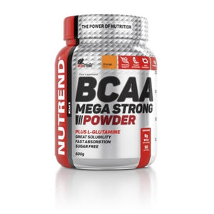 Nutrend- Bcaa   Mega Strong Powder    (500gr)