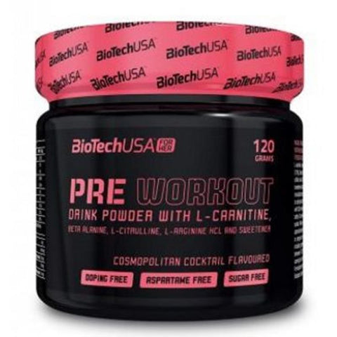 BioTechUSA- Pre Workout for Her  (120gr)