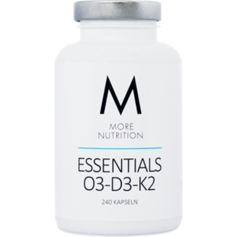 More Nutrition- Essentials O3-D2-K2  240 Kaps