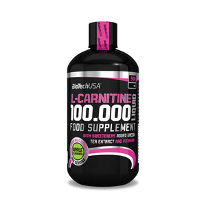 BioTechUSA - L-Carnitine 100.000 Liquid Cherry (500ML)