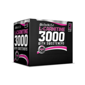 BioTechUSA - L-Carnitine 3000 Shots (20x25ML)