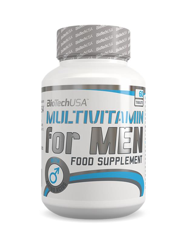 BioTechUSA - Multivitamin for MEN (60CAPS)