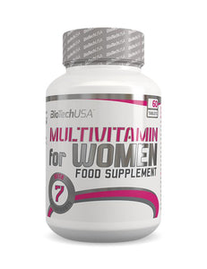 BioTechUSA - Multivitamin for WOMEN (60CAPS)
