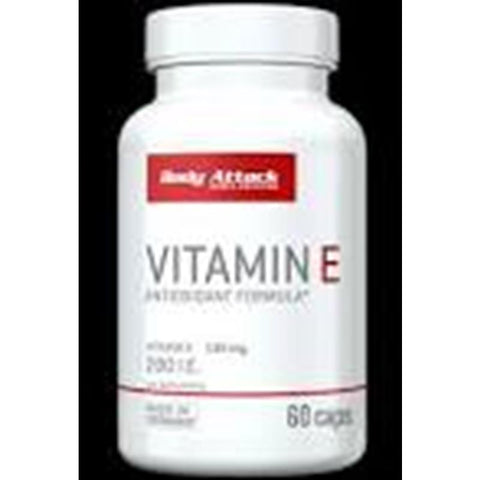 Body Attack - Vitamin E  (60Kaps)