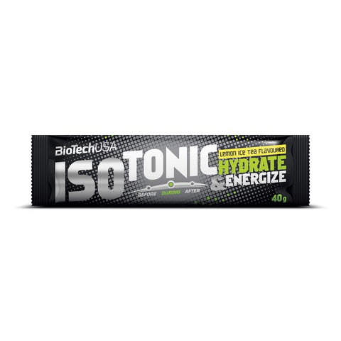 BioTechUSA- Iso Tonic Hydrate & Energize   (10x40gr)