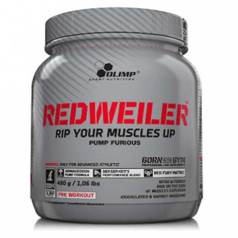 Olimp-Redweiler Furious Pump Booster (480gr)