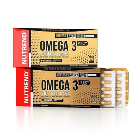 Nutrend - OMEGA 3 PLUS SOFTGEL   (120 Caps)