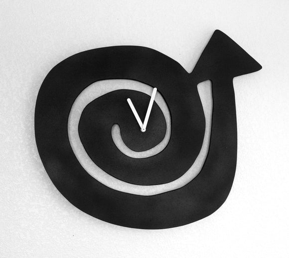 beatnik midcentury wall clock