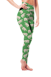 Leggings - Polar Bear Green