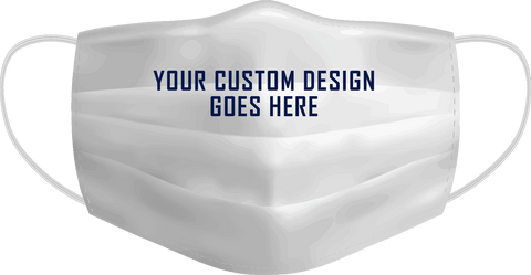 100 PACK CUSTOM PRINTED MASQS  - YOUR GRAPHICS AND LOGO