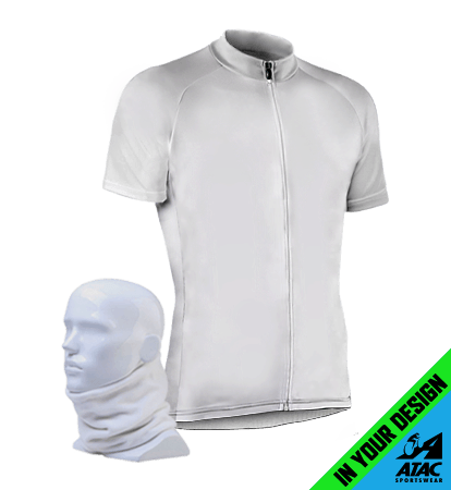 Custom Cycling Jersey With Matching Neck Gaiter