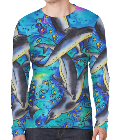 Sun Shirt - Dolphins Canvas