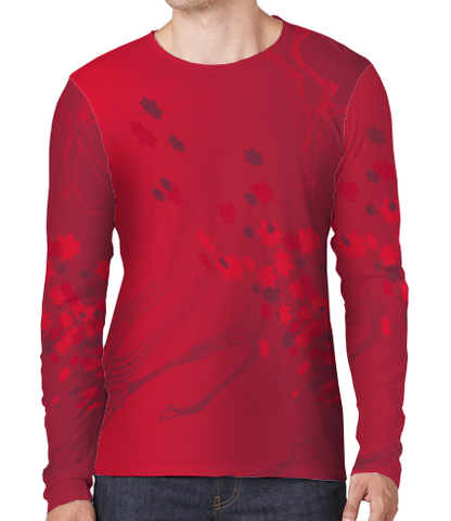 Sun Shirt - Maple Camo Red